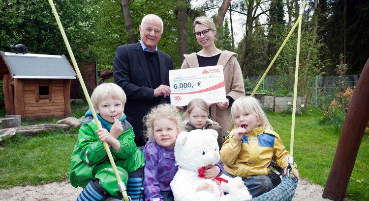 Spenden an das SOS-Kinderdorf Worpswede